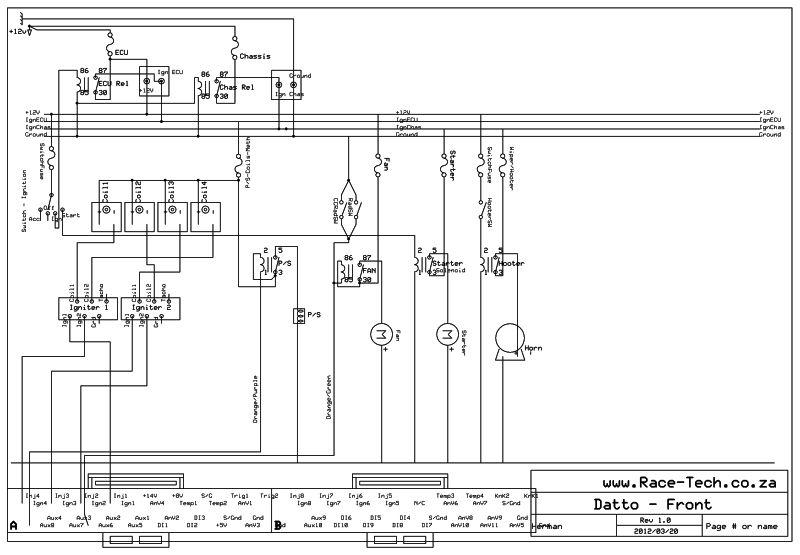 DattoWiringDiagrams2 racetech's 1200 sr20ve project [forum project builds] datsun racetech gauges wiring diagram at nearapp.co