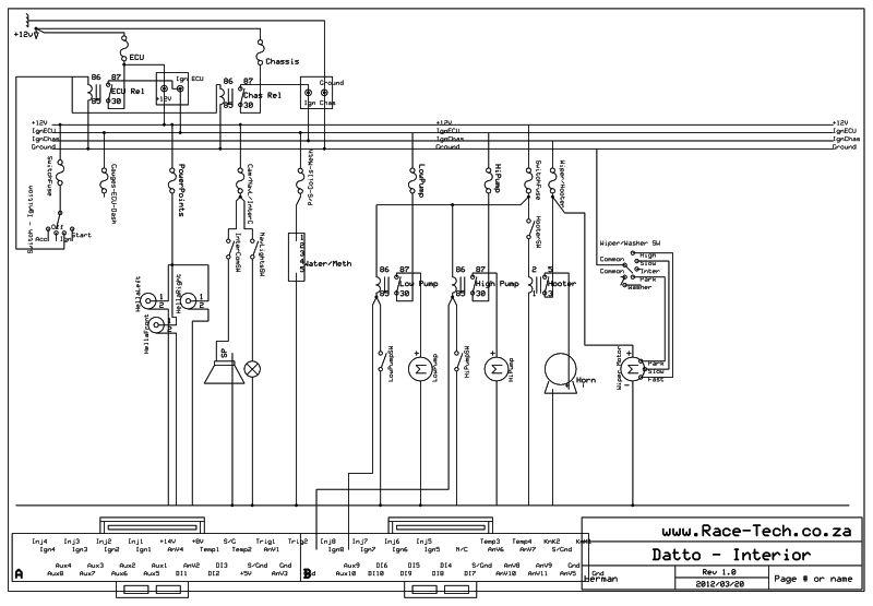 DattoWiringDiagrams3 racetech's 1200 sr20ve project [forum project builds] datsun racetech gauges wiring diagram at nearapp.co